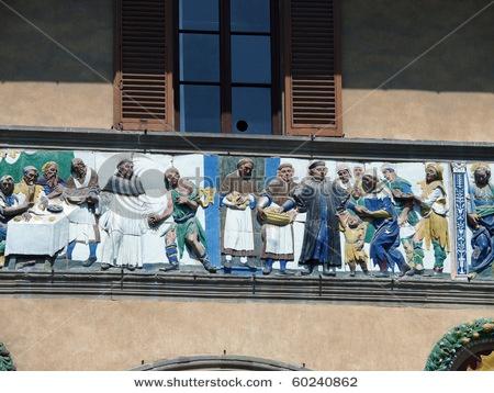 the Ospedale del Ceppo, Pistoia, Italy