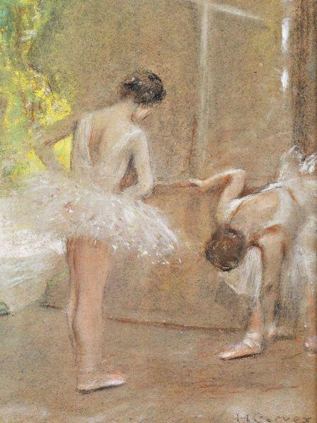 Henri De Toulouse-Lautrec Ballerina   ... joy by henri de toulouse lautrec paris street scene by henri cassiers