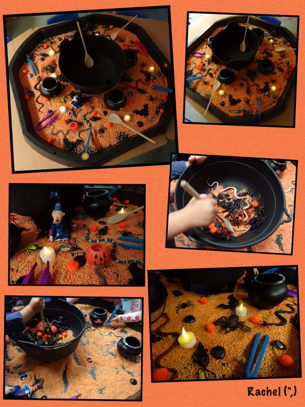 """Halloween Phonics Game - 'Silly Soup' (and spell-making)... from Rachel ("""",)"""