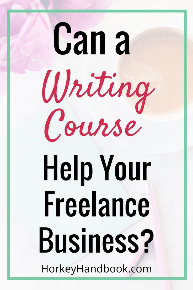 freelance writing course