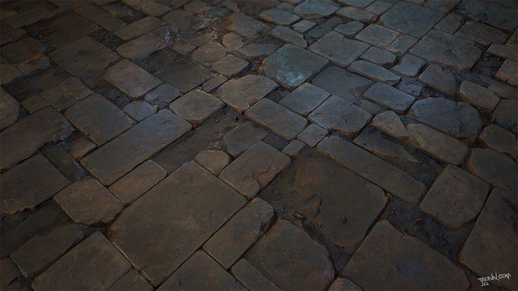 ArtStation - Stone_Floor_tile_03, Jonas Ronnegard