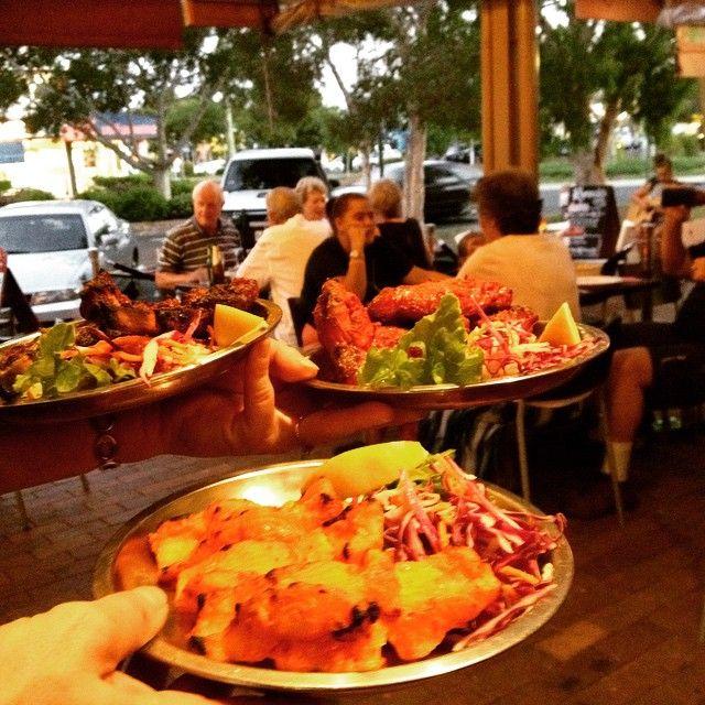 "@moinoosa's photo: ""Tandoori Fish Tikka, Barrah Kabab and Tandoori Chicken Wings going to Roger's table. YUUUMMMM...... #magicofindia #noosaville #noosa #savour #food #delivery #australia #restaurants"""