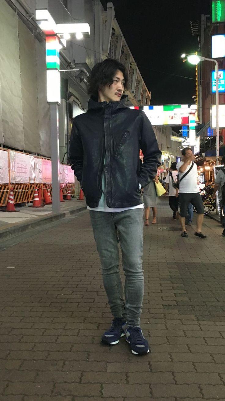 上野店 オススメ レザー特集! サラッと羽織れるラムレザージャケットです! モデル身長168cm着用Mサイズ