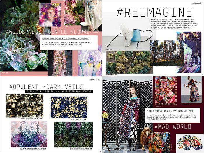 New Patternbank Autumn Winter Print Pattern Trend Report Nail Design Art Salon Irvine Newport Beach
