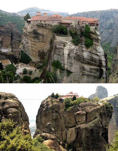 Monasteries Meteora, Greece