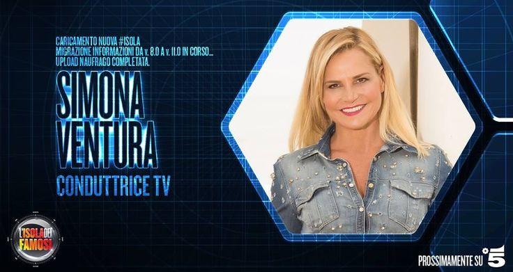 Simona Ventura all'Isola dei Famosi: è la stessa ad annunciarlo sulla sua web tv in un video messaggio.
