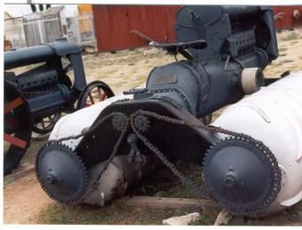 Fordson snow machine - Yesterday's Tractors