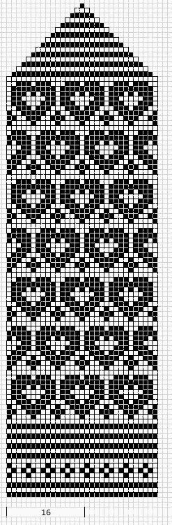 ustrilaegas: Labakindad / Mittens fair isle knit chart