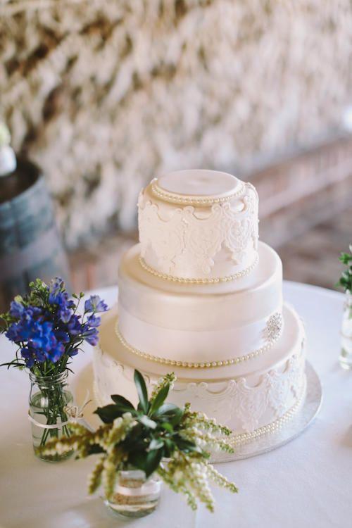 To Be Frank Weddings - Wedding Planning, wedding cake, three tiers, lace, country wedding, Belganny farm Camden nsw