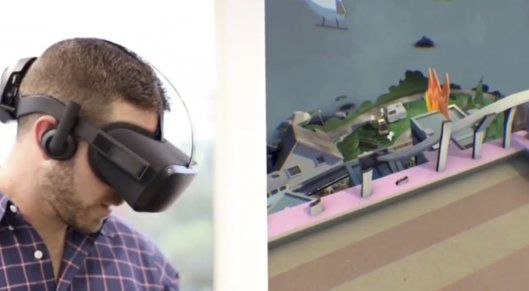 Hands-on camera-off with the Oculus Santa Cruz standalone VR prototype