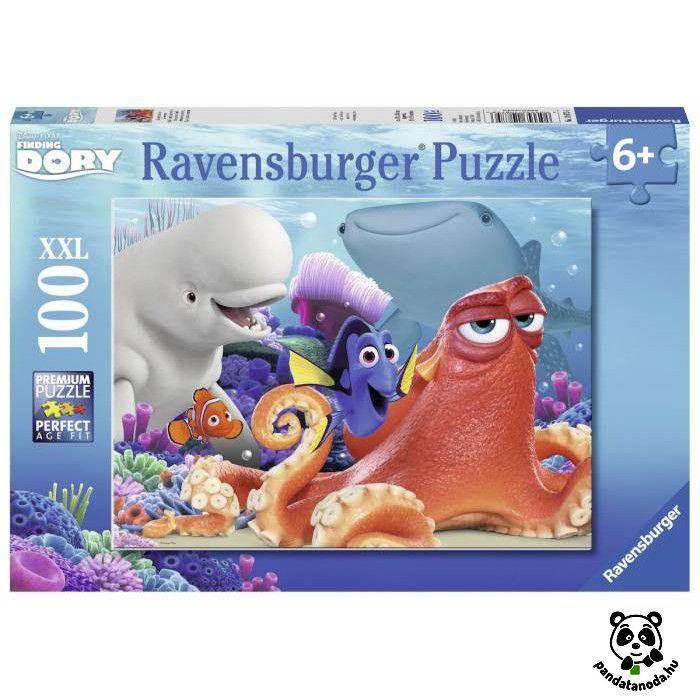 Szenilla nyomában XXL puzzle 100 db (Ravensburger) | Pandatanoda.hu Játék webáruház