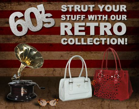 Bring back the 60s spunk with our fab new range of accessories!