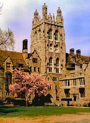 Branford College at Yale in New Haven, Connecticut is one of the university's historic residential colleges.