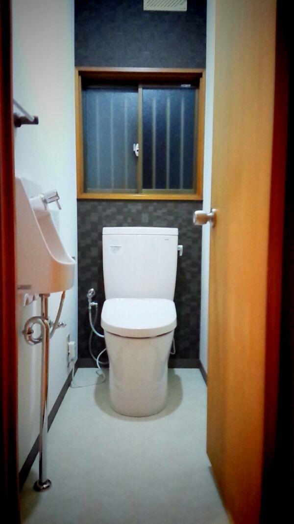 栃木市大平町 T様邸 木造 築22年 工事内容:トイレ改修工事 ●TOTOピュアレストQR、ウシュレット アプ…