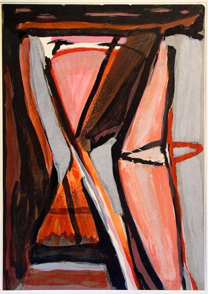 'L'attrait' BVV 317 (1978) by Bram Van Velde