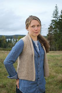 Brookdale Vest by Elizabeth Smith