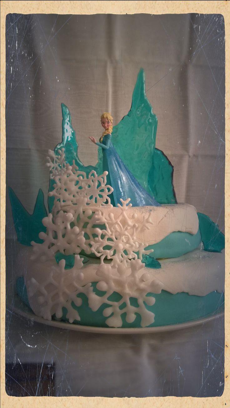 Frozen, la reine des neiges. Pour les trois ans de ma fille