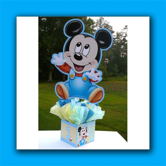 Diy supply kit small personalized baby mickey mouse st