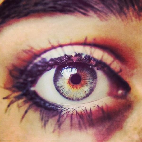 MY Green eyes #eye #green #makeup #eyes #natural #see #yeux #ojos