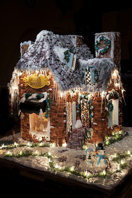 Best In Show Gingerbread House 2011 Ginger Bricks Gum