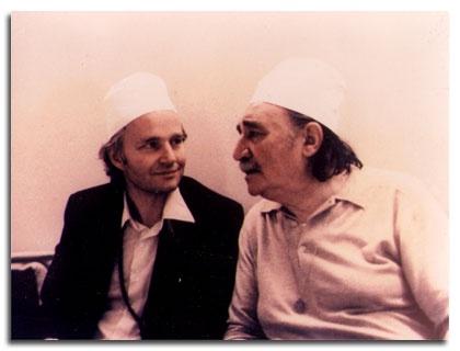 Lex Hixon, here with Sheikh Muzaffer Ashki