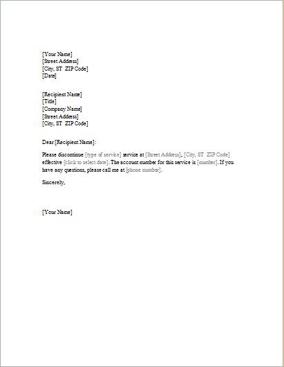 1647 best Daily Microsoft Templates images on Pinterest - sample service termination letter