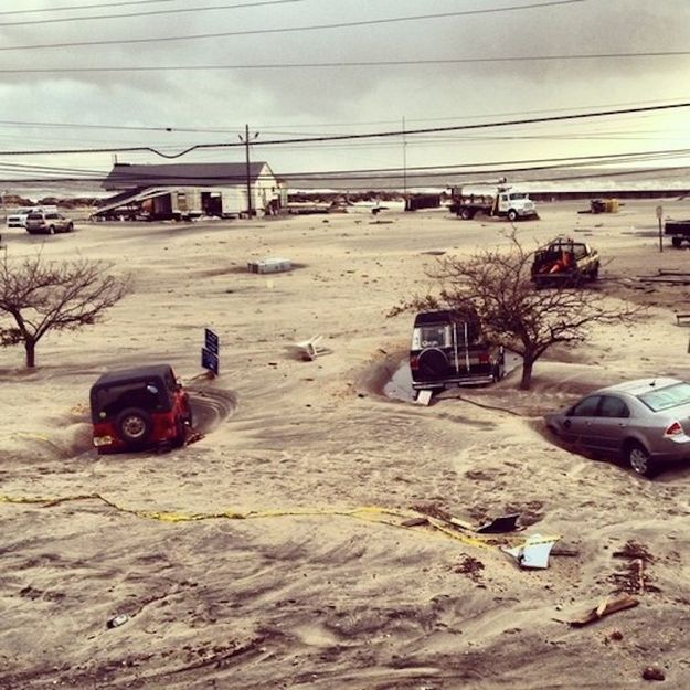 Sea Bright   25 Incredible Pictures Of Hurricane Sandy's Destruction In New Jersey