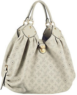 one of my favorite bags... Louis Vuitton Mahina XXL