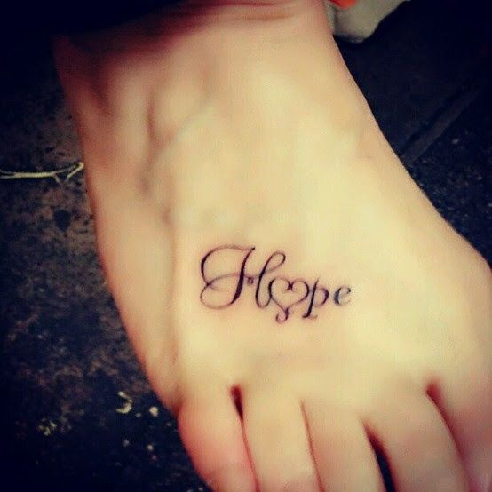 Hope tattoos | Sixpence & A Blue mOOn: Random Things To Love