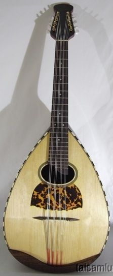 Italian Style solid rosewood and maple bowl back mandocello