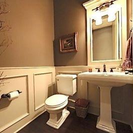 Traditional Half Bathroom Ideas 26 best half bath images on pinterest | bathroom ideas, room and diy