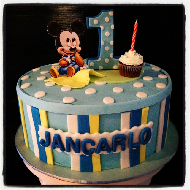 Cake Mickey Mouse Baby
