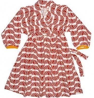 Plastisock Φόρεματάκι Αμπίρ Με Σχέδιο Παγώνι