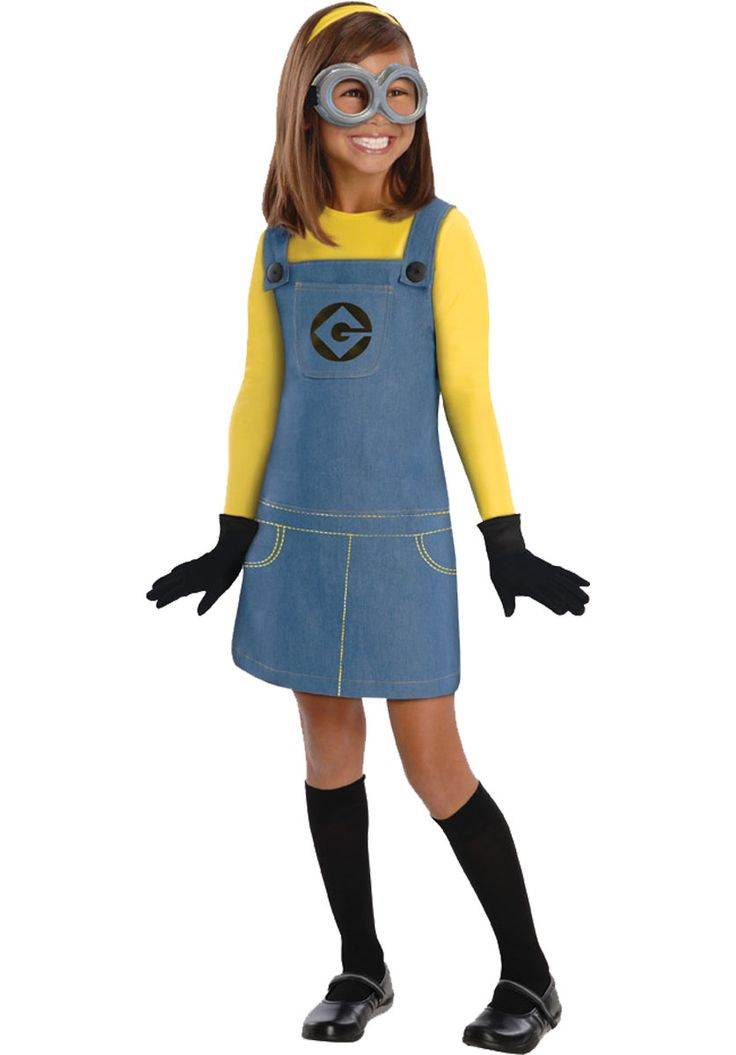 Minion Girl Costume, Despicable Me 2 Kids Fancy Dress - General Kids Costumes at Escapade™ UK - Escapade Fancy Dress on Twitter: @Escapade_UK