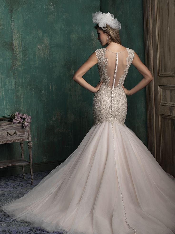 129 best Allure Couture images on Pinterest | Short wedding gowns ...