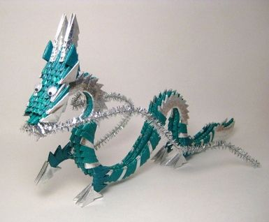 146 best origami dragons images on pinterest. Black Bedroom Furniture Sets. Home Design Ideas