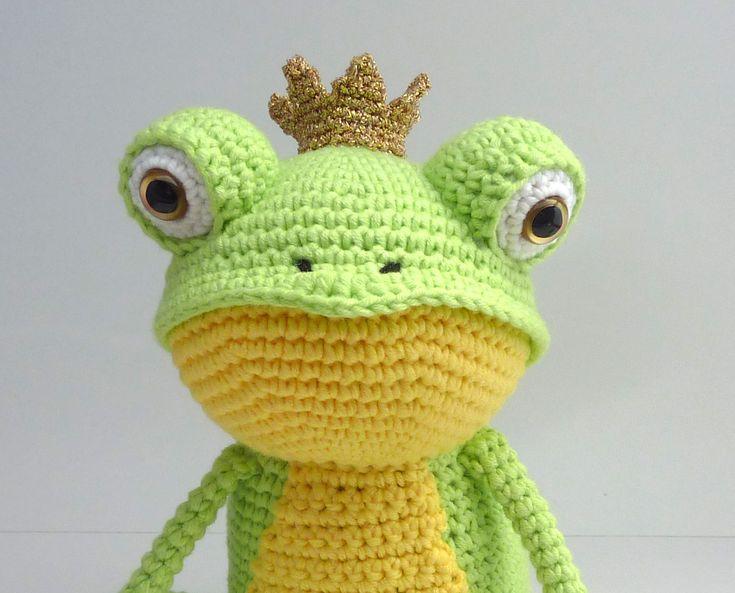 Little Prince Amigurumi Free Pattern : 17+ best ideas about Crochet Frog on Pinterest Crocheted ...