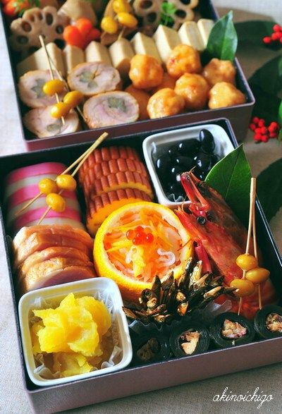Japanese New Year's food : osechi-ryori