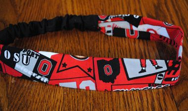 Check out All Things Crafty Ohio State Heandband! www.allthingscrafty-atc.com