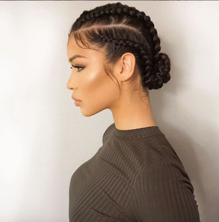 Simple yet gorgeous @victoriavanna - http://community.blackhairinformation.com/hairstyle-gallery/braids-twists/simple-yet-gorgeous-victoriavanna/