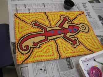 4th Grade - Aboriginal Art GRE Art Room