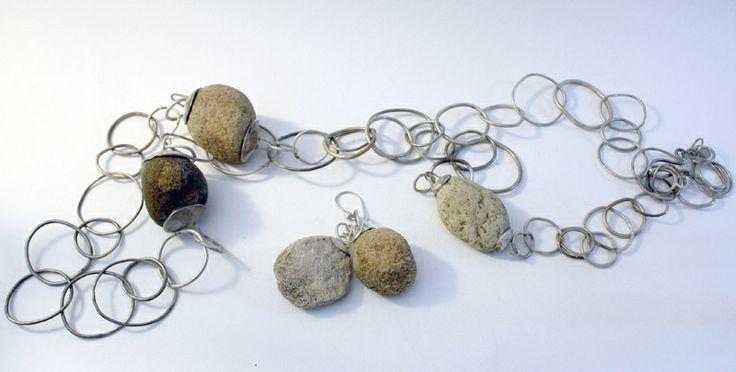 necklace & earrings - marina louw