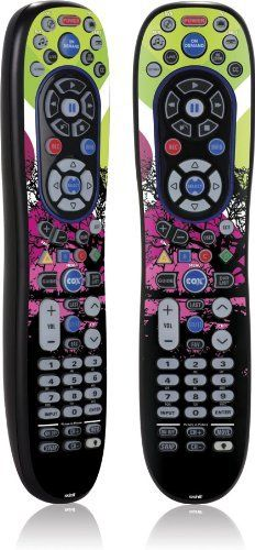Skinit Black Tree Vinyl Skin for Cox New Remote Fully Back Lit by Skinit. $11.99. IMPORTANT: Skinit skins, stickers, decals are NOT A CASE. Our skins are VINYL SKINS that allow you to personalize and protect your device with form-fitting skins. Our adhesive backing can be applied and removed with no residue, no mess and no fuss. Skinit skins are engineered specific to each device to take into account buttons, indicator lights, speakers, unique curvature and will not ...