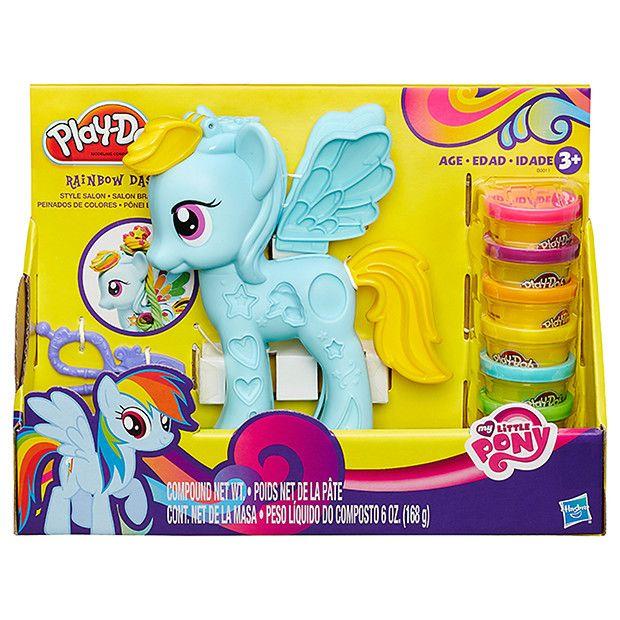 Play-Doh Rainbow Dash Style Salon