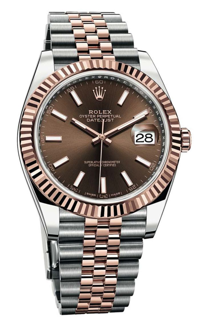 Die neue Rolex Oyster Perpetual Datejust 41 in Rolesor Everose mit Jubilé-Band