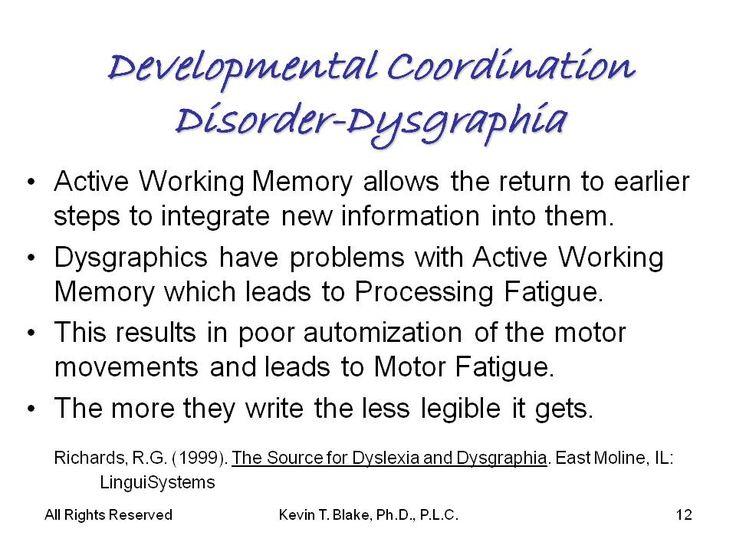 111 best dysgraphia images on pinterest dysgraphia for Motor planning disorder symptoms