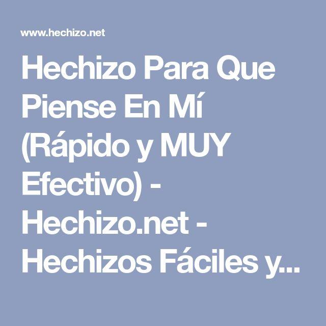 Hechizo Para Que Piense En Mí (Rápido y MUY Efectivo) - Hechizo.net - Hechizos Fáciles y Efectivos