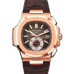Patek Philippe 5980R-001 Nautilus Mens Rose Gold watch