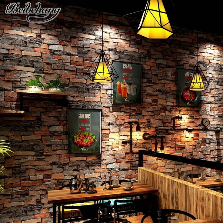 33.00$  Watch here - http://ali1y0.shopchina.info/1/go.php?t=32820187587 - beibehang Stereo retro stone pattern wallpaper cafe hotel background wall simulation stone restaurant culture stone wallpaper  #magazineonlinewebsite