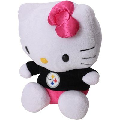Pittsburgh Steelers 8 Quot Shirtable Hello Kitty Plush 8